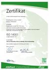 Zertifizierung, Umweltmanagement