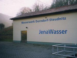 Wasserwerk Dorndorf-Steudnitz, JenaWasser