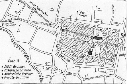Brunnenplan Jena, JenaWasser