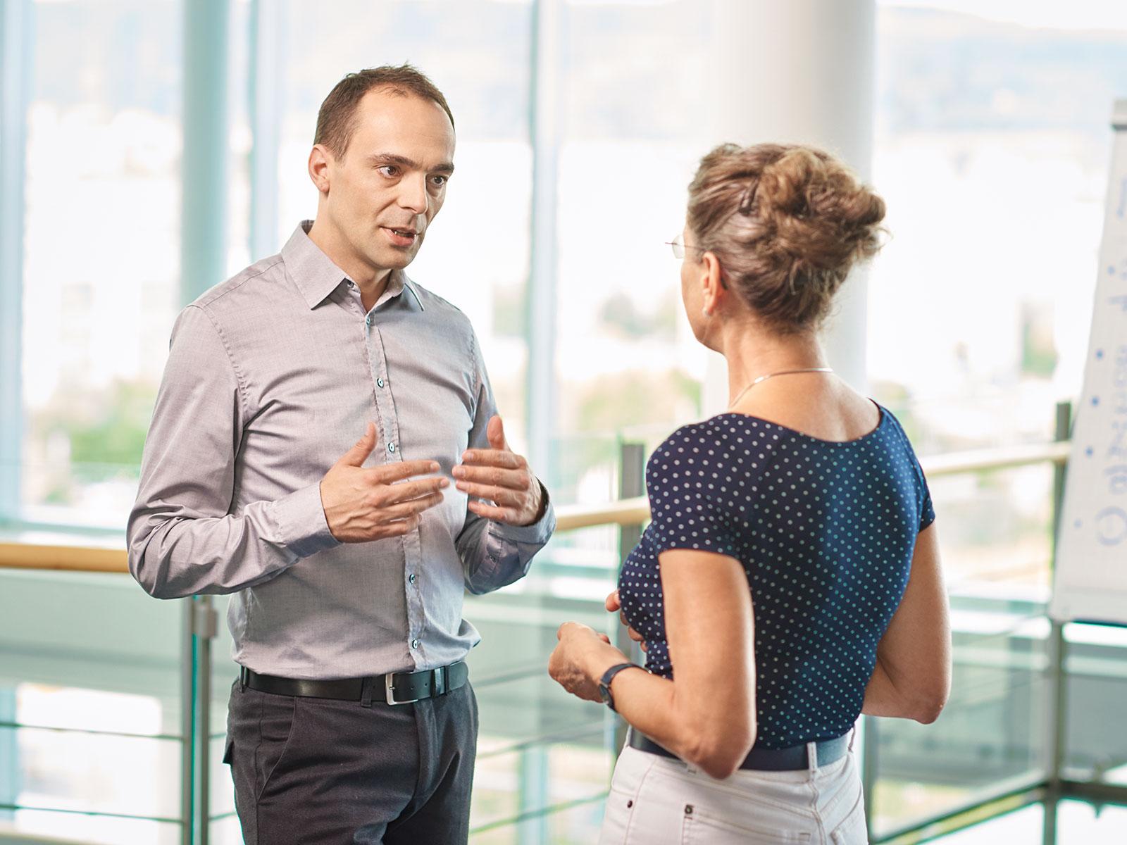 Vertrauen als Ansporn: Für das Handeln unserer Mitarbeiter gelten hohe Maßstäbe.