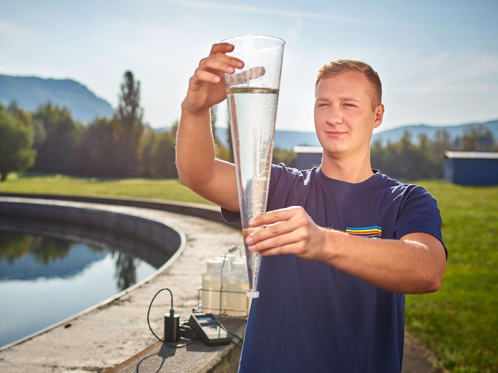 Wasser ist unser Auftrag: Ihn erfüllen wir mit motivierten Mitarbeitern und moderner Technik.