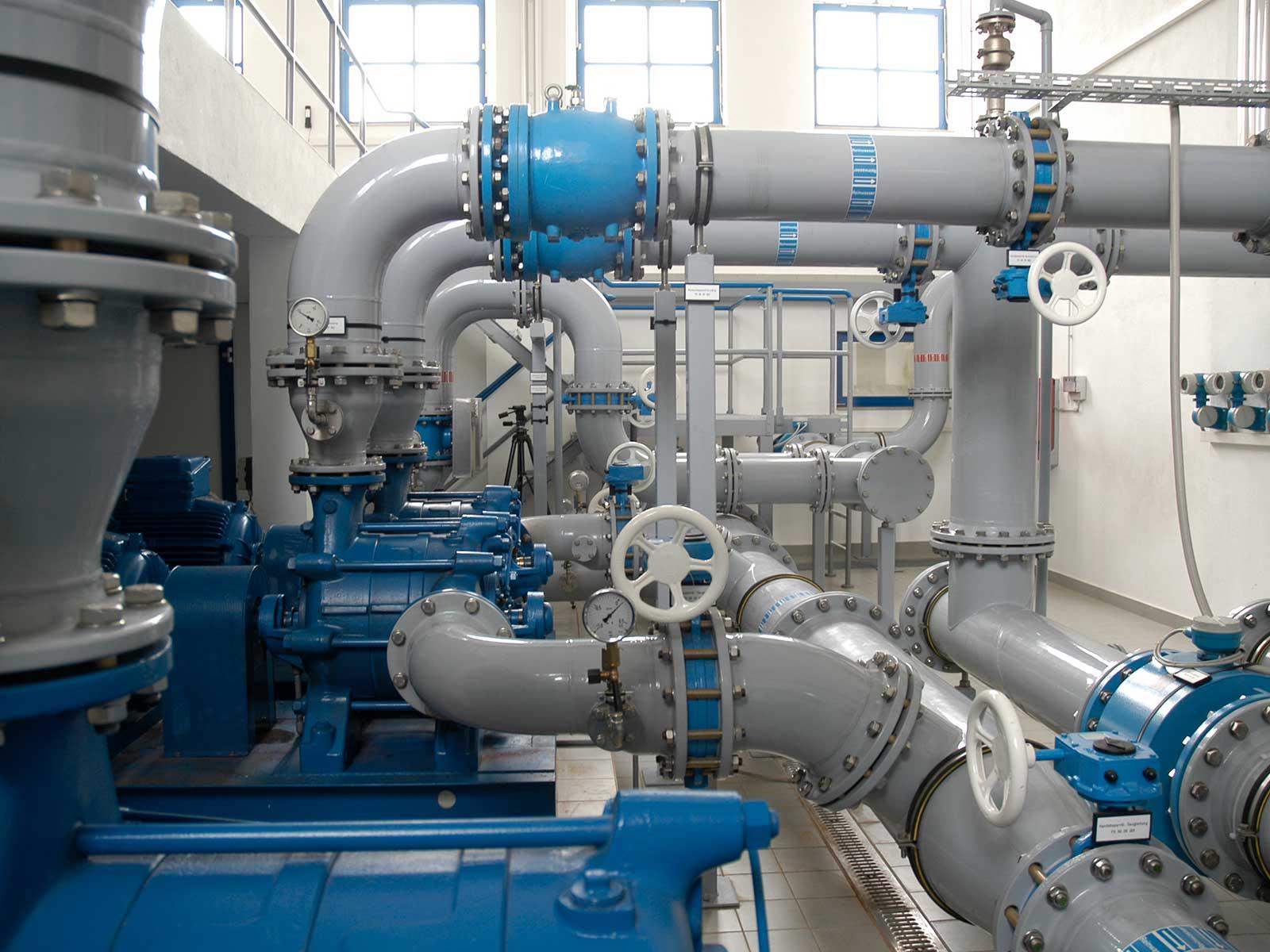 Aus Rohwasser wird Trinkwasser: Wir stellen Ihnen unsere fünf Wasserwerke näher vor.