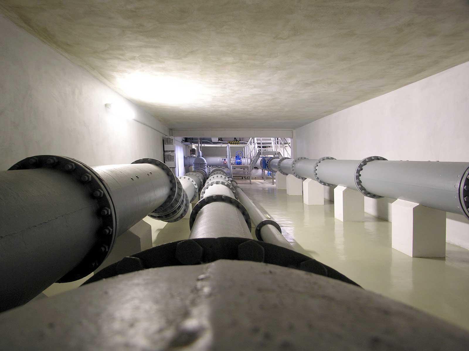 Unter anderem vom Thüringer Fernwasser-verband beziehen wir zusätzlich Trinkwasser aus fremden Netzen.