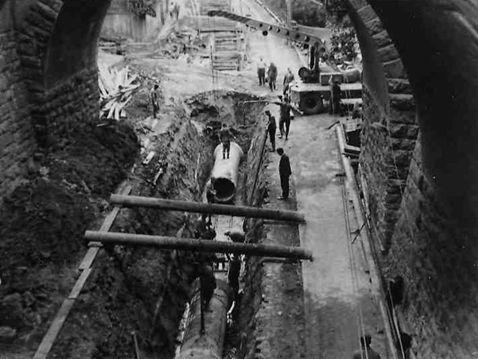Von der Abflussrinne zur Zentralkläranlage: Werfen Sie einen Blick in die Geschichte der Abwasserentsorgung.