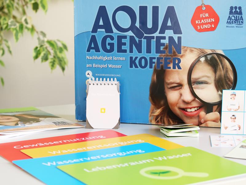 Aquaagenten Koffer